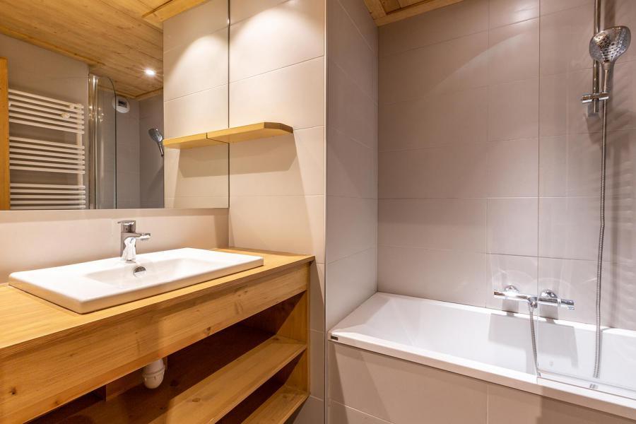 Vacaciones en montaña Apartamento 3 piezas para 7 personas (022) - Résidence Arpasson - Méribel-Mottaret - Bañera