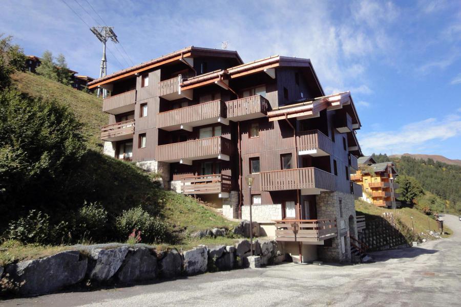 Location au ski Résidence Asphodèles - Méribel-Mottaret - Extérieur été