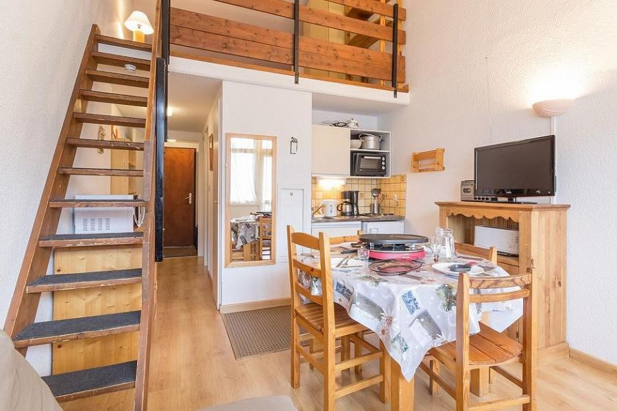 Holiday in mountain resort 3 room duplex apartment 6 people (1003) - Résidence Aster B3 - Les Menuires - Bunk beds