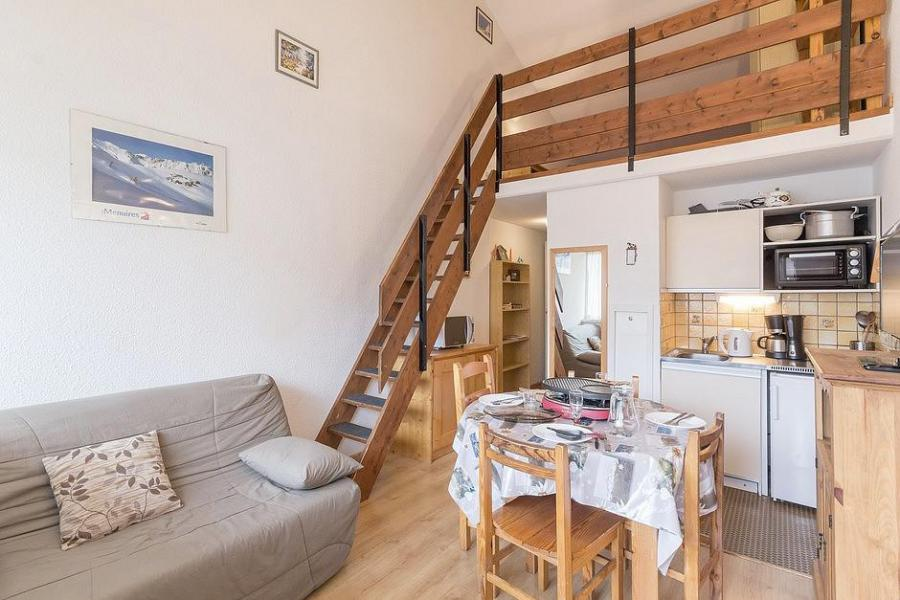 Holiday in mountain resort 3 room duplex apartment 6 people (1003) - Résidence Aster B3 - Les Menuires - Table