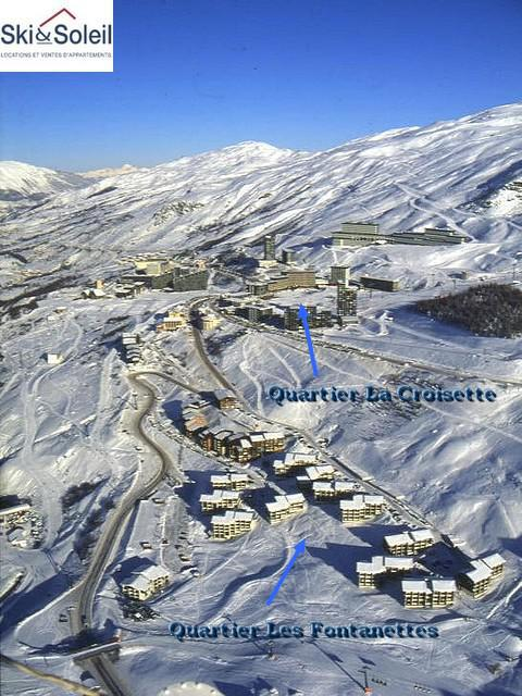 Holiday in mountain resort Résidence Aster B3 - Les Menuires