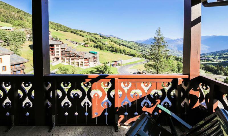 Vacances en montagne Appartement 3 pièces 7 personnes (Sélection 47m²-3) - Résidence Athamante et Valériane - Maeva Home - Valmorel - Extérieur été