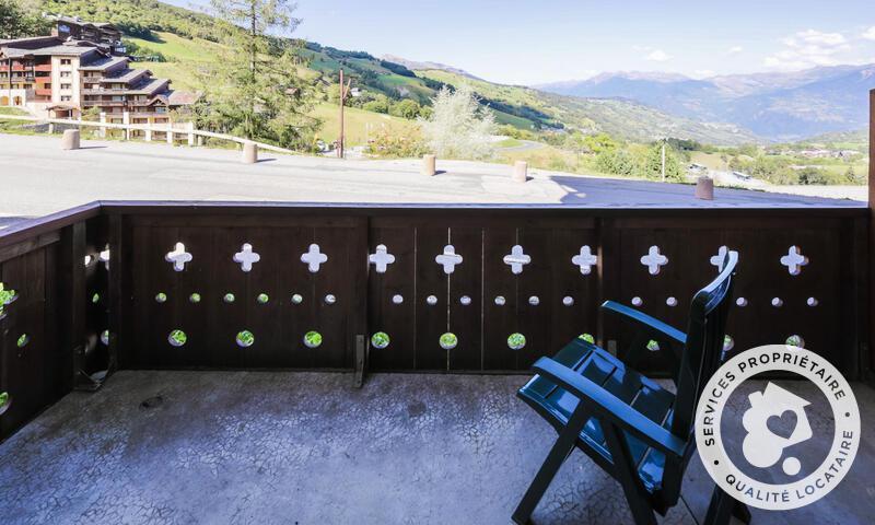 Vacances en montagne Studio 4 personnes (Sélection 28m²) - Résidence Athamante et Valériane - Maeva Home - Valmorel - Extérieur été