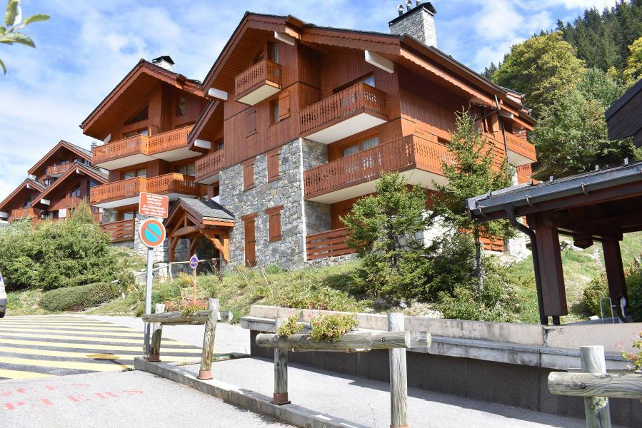 Location au ski Appartement 2 pièces 4 personnes (14) - Résidence Aubépine - Méribel - Extérieur été