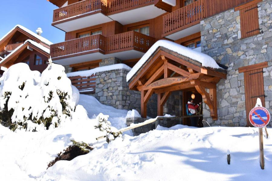 Holiday in mountain resort Résidence Aubépine - Méribel
