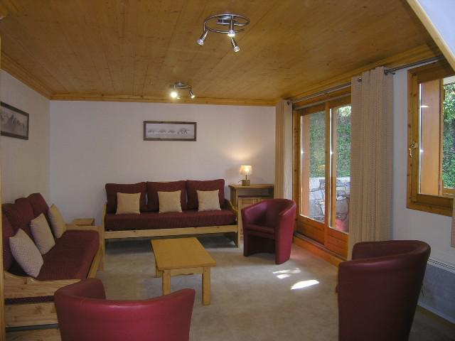 Vacances en montagne Appartement duplex 5 pièces 10 personnes (16) - Résidence Aubépine - Méribel - Séjour