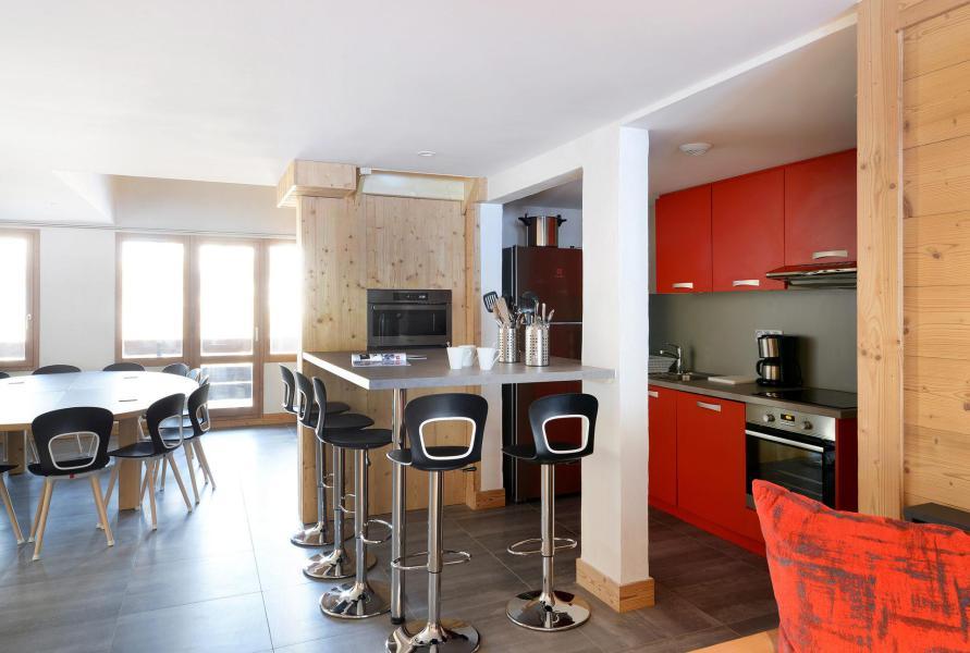 Holiday in mountain resort 6 room apartment 15 people (415) - Résidence Backgammon - Montchavin La Plagne