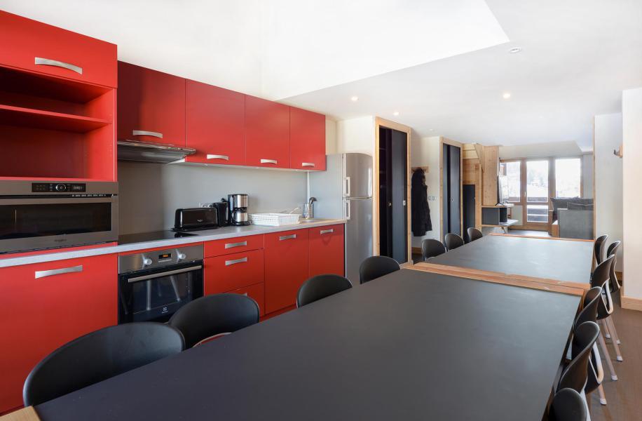 Holiday in mountain resort 6 room duplex apartment 14 people (519) - Résidence Backgammon - Montchavin La Plagne