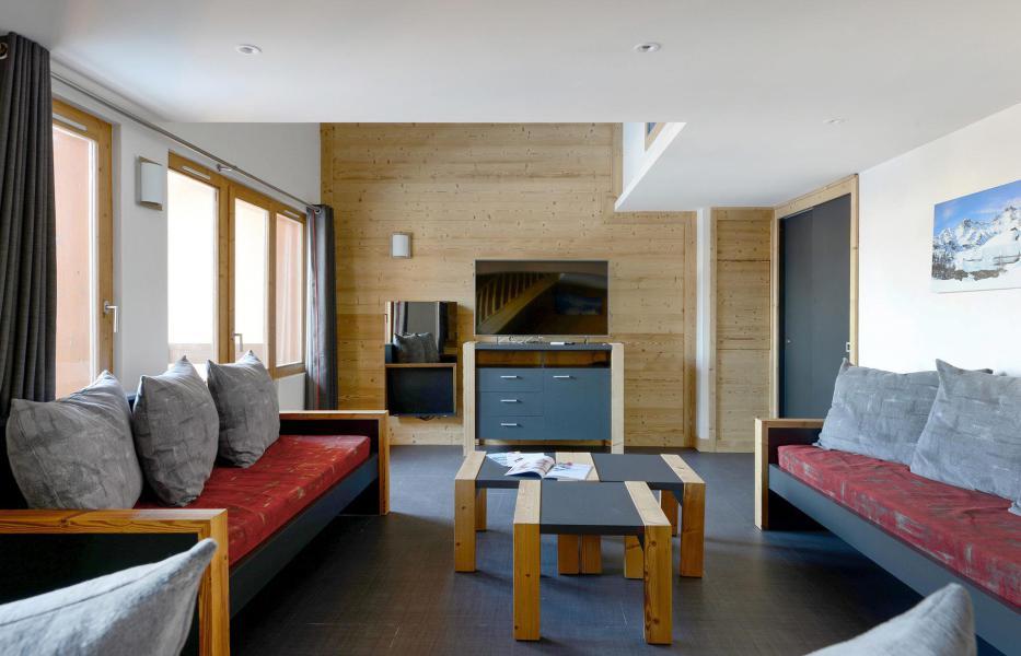 Holiday in mountain resort 7 room duplex apartment 16 people (623) - Résidence Backgammon - Montchavin La Plagne