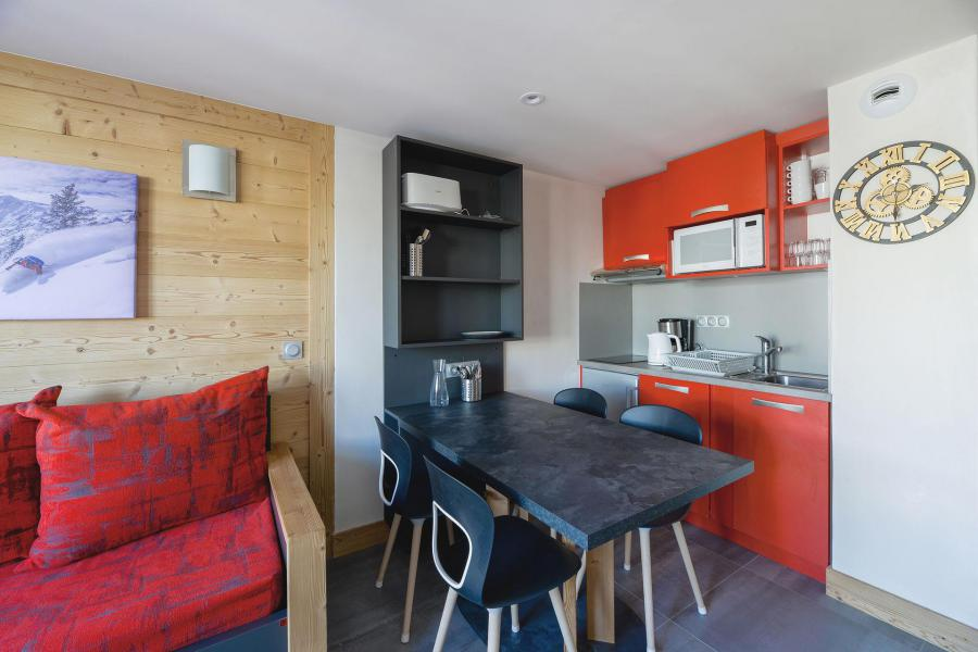 Holiday in mountain resort 2 room apartment 5 people (105) - Résidence Backgammon - Montchavin La Plagne
