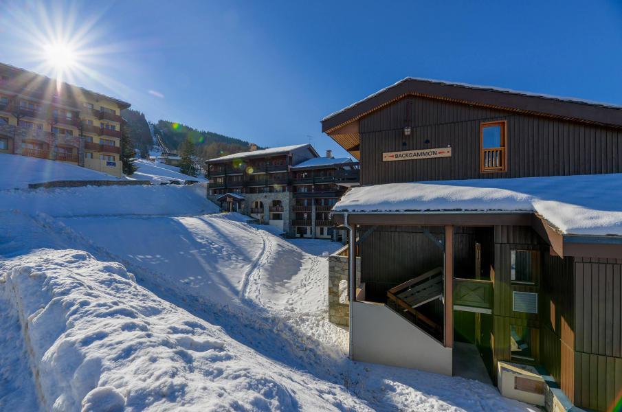 Holiday in mountain resort Studio 2 people (220) - Résidence Backgammon - Montchavin La Plagne