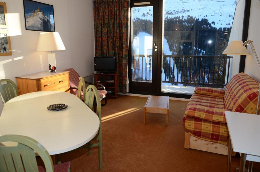 Vacances en montagne Appartement 2 pièces 6 personnes (A2) - Résidence Balance - Flaine - Séjour
