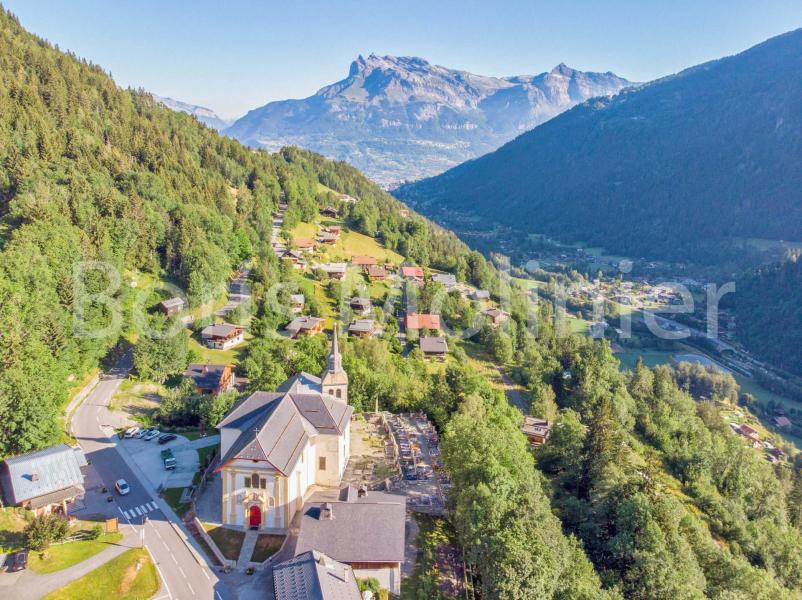 Wakacje w górach Résidence Balcon des Aravis - Saint Gervais - Na zewnątrz latem