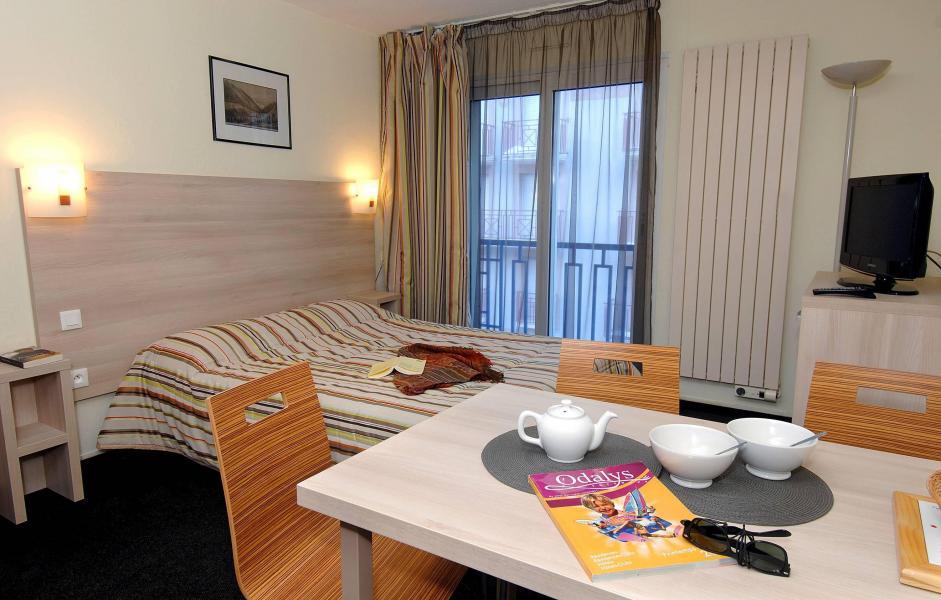Urlaub in den Bergen Résidence Balnéo Aladin - Cauterets - Schlafzimmer