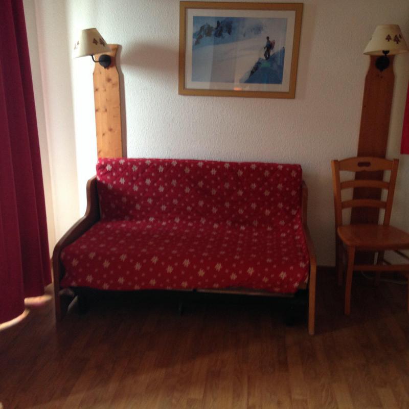 Vacaciones en montaña Apartamento 2 piezas para 4 personas (303) - Résidence Bartavelle la Crête du Berger - La Joue du Loup - Sofá-cama