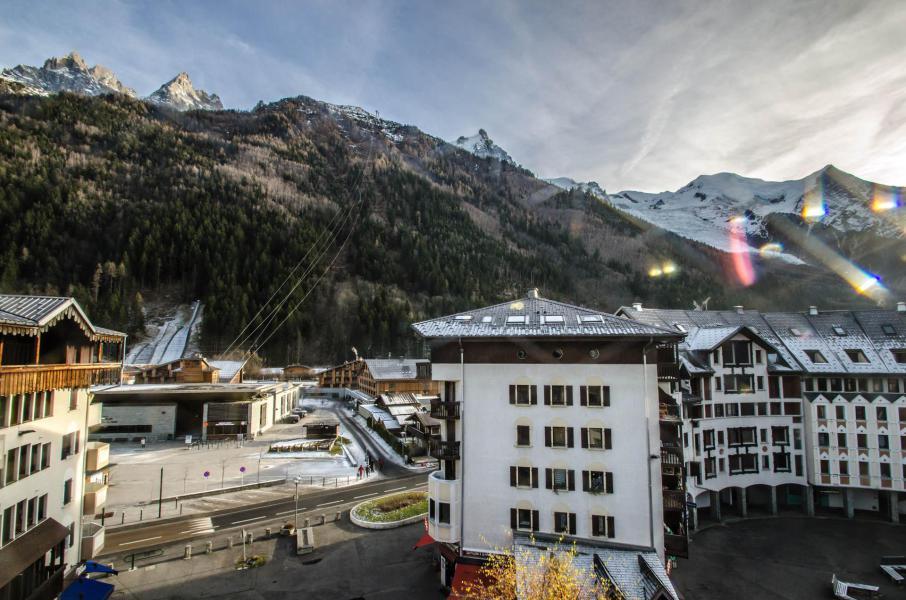 Vacances en montagne Studio mezzanine 4 personnes (La Poya) - Résidence Bâtiment B - Chamonix
