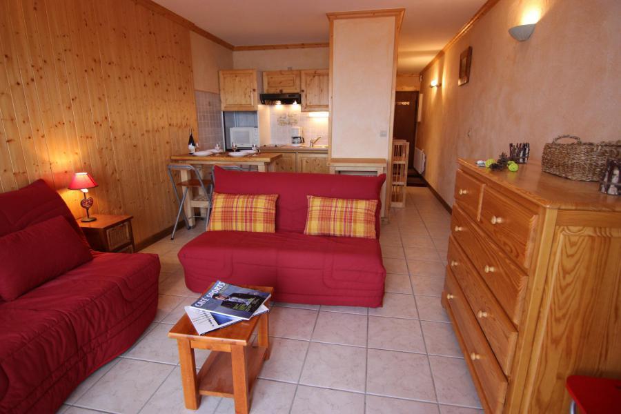 Vacances en montagne Appartement 2 pièces 4 personnes (4) - Résidence Beau Soleil - Val Thorens - Séjour