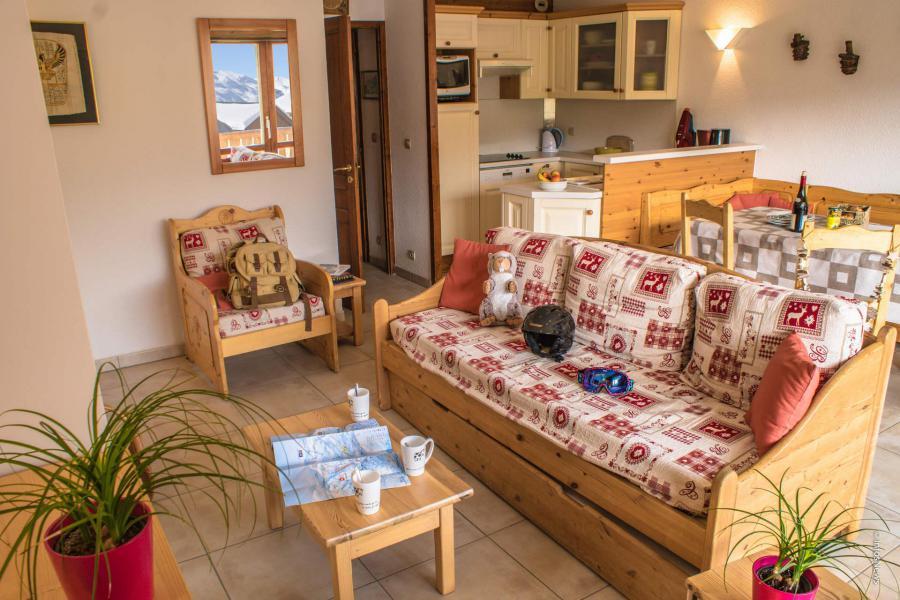 Vacances en montagne Appartement 3 pièces 6 personnes (8) - Résidence Beau Soleil - Val Thorens - Séjour