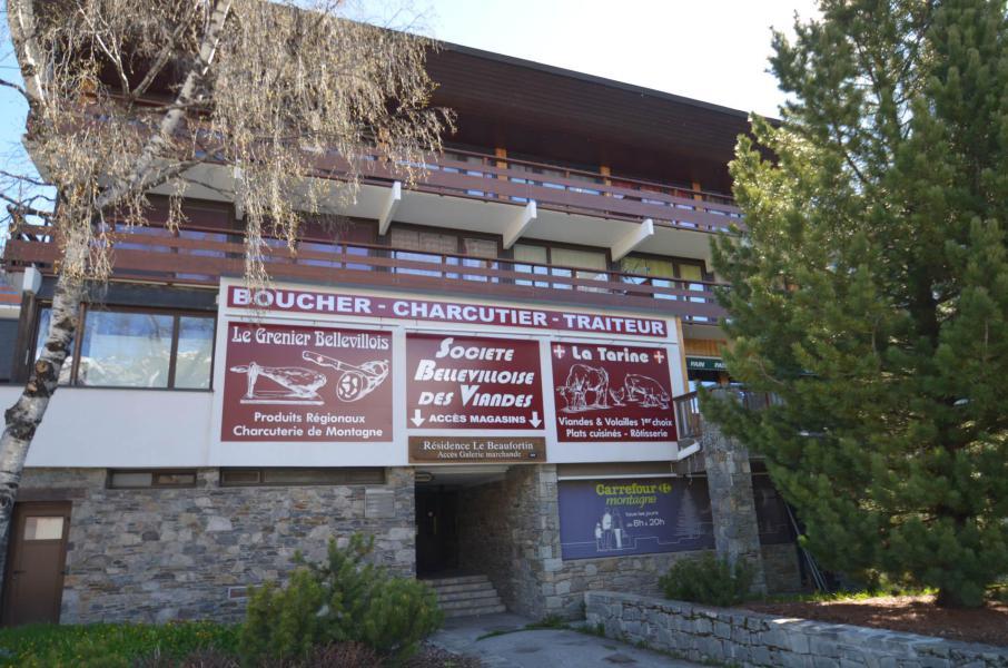 Location au ski Résidence Beaufortain - Les Menuires - Extérieur été