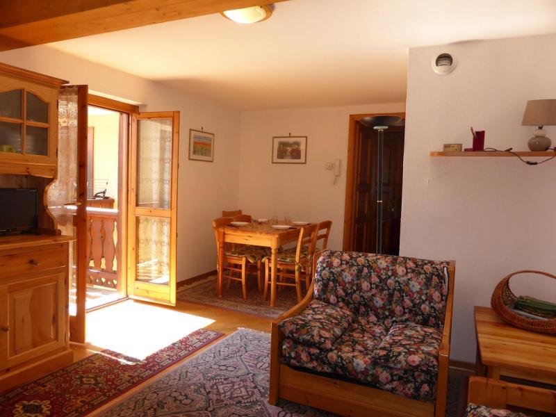 Urlaub in den Bergen 2-Zimmer-Appartment für 5 Personen (6) - Résidence Beauregard - Les Houches - Wohnzimmer