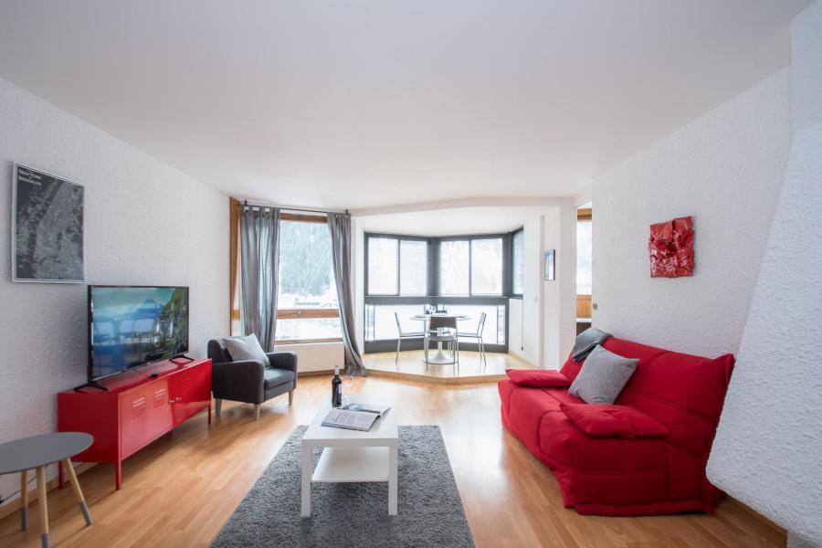 Vacances en montagne Appartement 2 pièces 2-4 personnes - Résidence Beausite - Chamonix - Séjour
