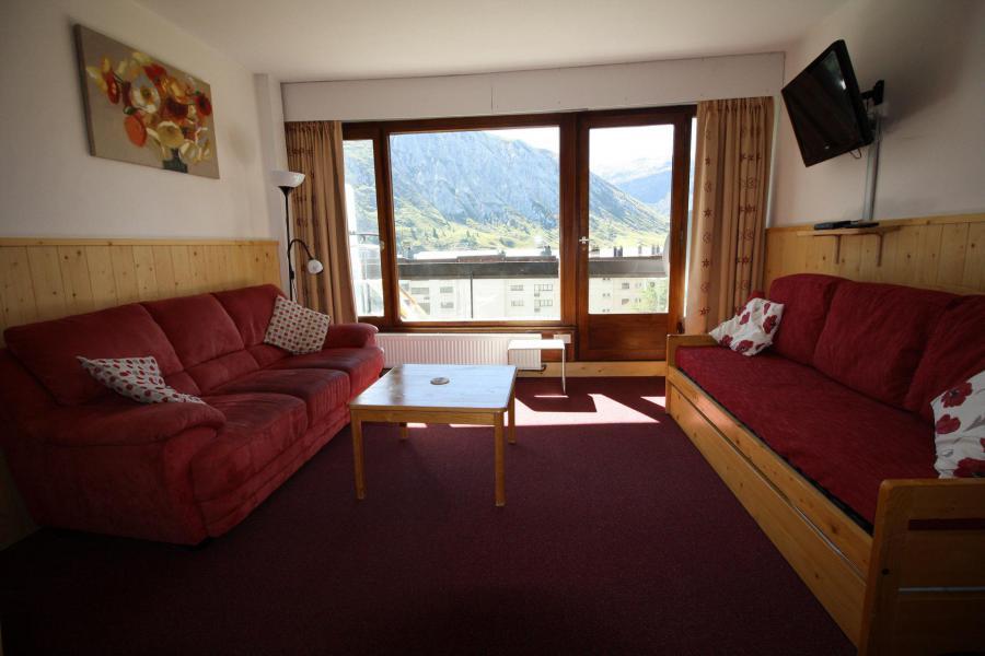 Wakacje w górach Apartament 2 pokojowy z alkową 6 osób (521CL) - Résidence Bec Rouge - Tignes - Pokój gościnny