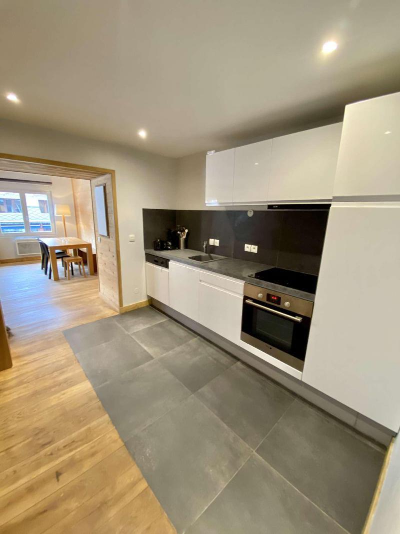 Wakacje w górach Apartament 2 pokojowy kabina 6 osób (404) - Résidence Bel Alp - Les 2 Alpes - Aneks kuchenny