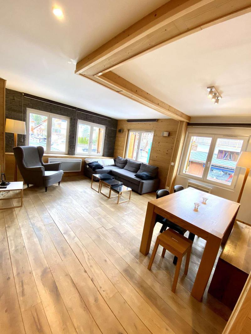 Wakacje w górach Apartament 2 pokojowy kabina 6 osób (404) - Résidence Bel Alp - Les 2 Alpes - Jadalnia