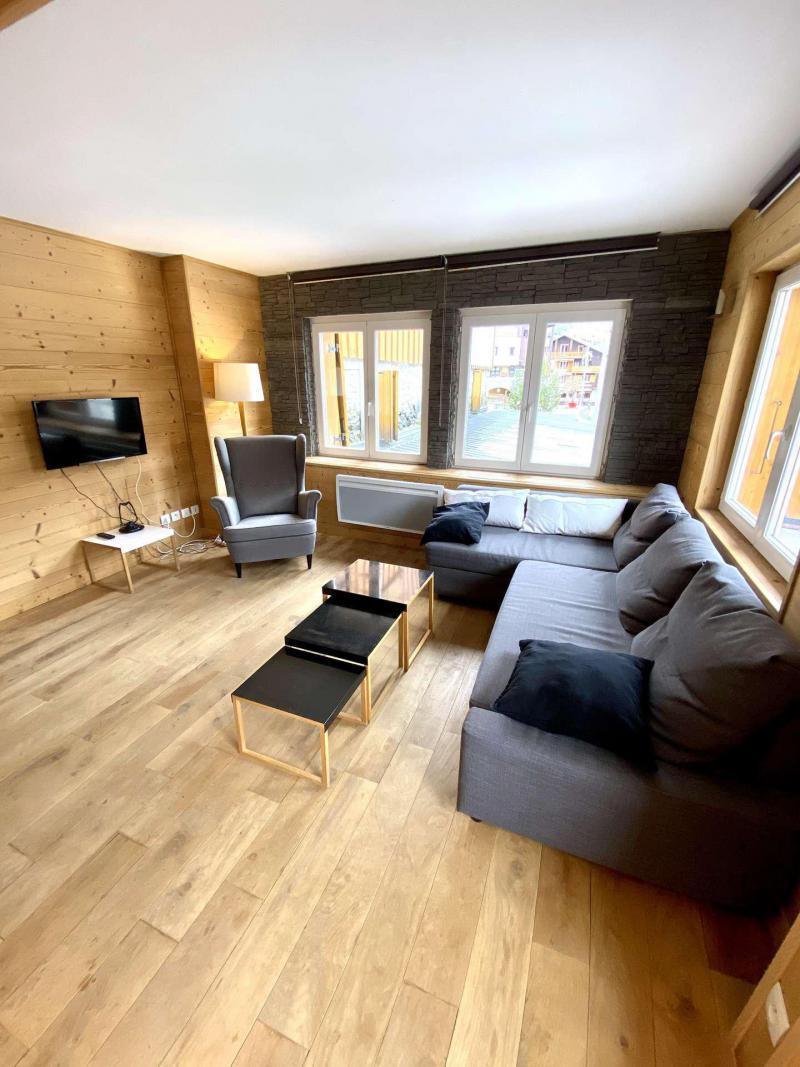 Wakacje w górach Apartament 2 pokojowy kabina 6 osób (404) - Résidence Bel Alp - Les 2 Alpes - Pokój gościnny