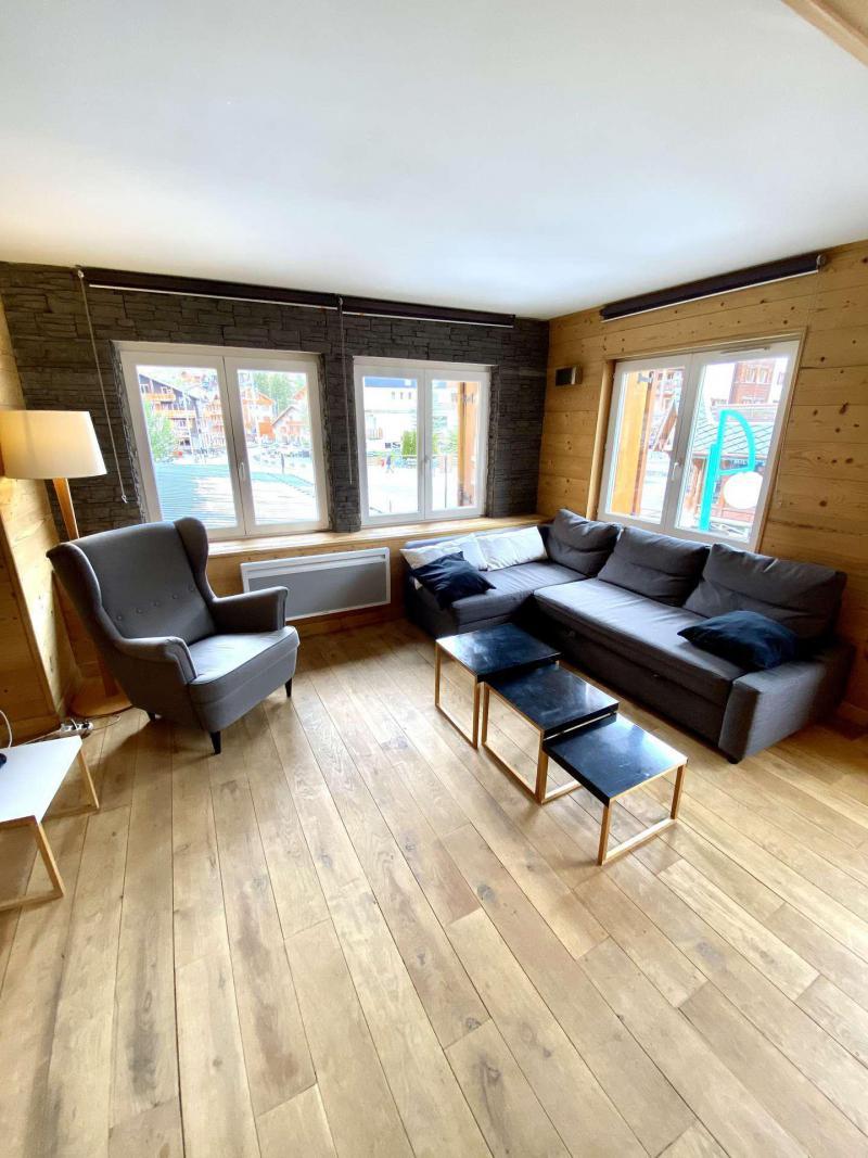 Wakacje w górach Apartament 2 pokojowy kabina 6 osób (404) - Résidence Bel Alp - Les 2 Alpes - Sofą