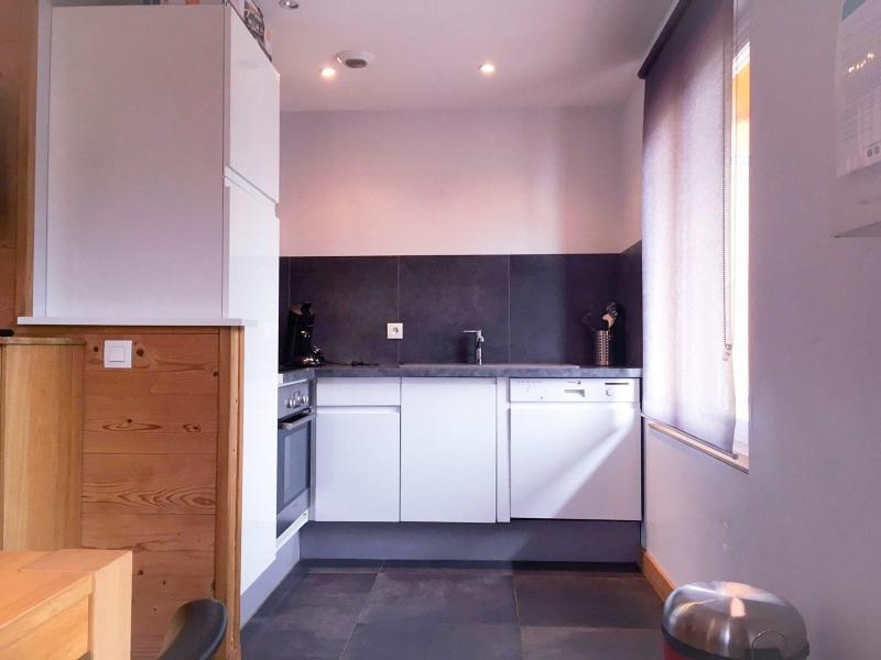 Wakacje w górach Apartament 3 pokojowy 6 osób (166) - Résidence Bel Alp - Les 2 Alpes - Aneks kuchenny