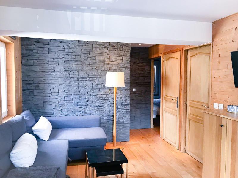 Wakacje w górach Apartament 3 pokojowy 6 osób (166) - Résidence Bel Alp - Les 2 Alpes - Pokój gościnny