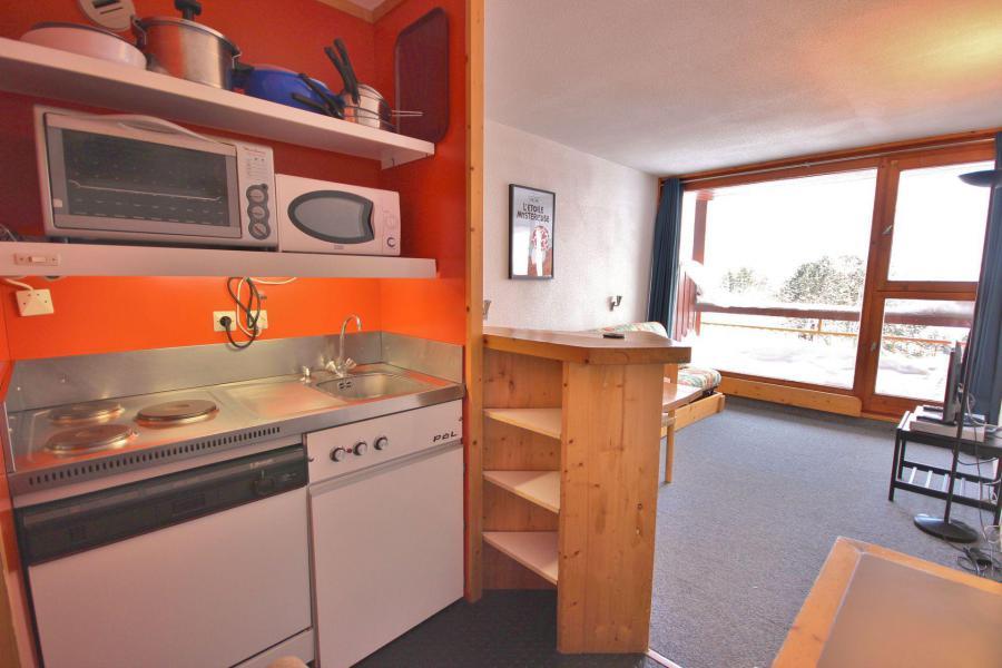 Vacances en montagne Studio coin montagne 4 personnes (403) - Résidence Bel Aval - Les Arcs