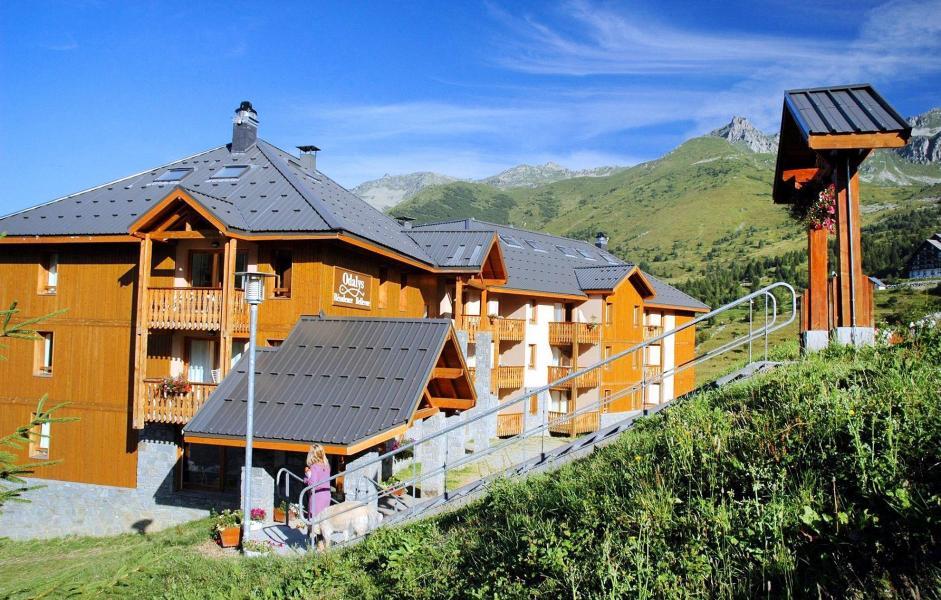 Vacances en montagne Résidence Belle Vue - Saint-François Longchamp - Extérieur été