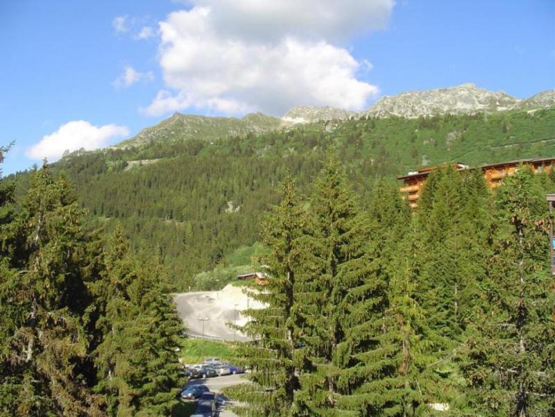 Location au ski Studio coin montagne 4 personnes (1127) - Résidence Belles Challes - Les Arcs - Extérieur été