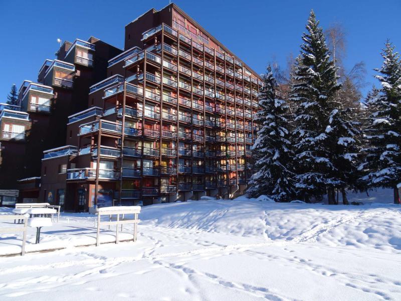 Location au ski Résidence Belles Challes - Les Arcs - Extérieur été