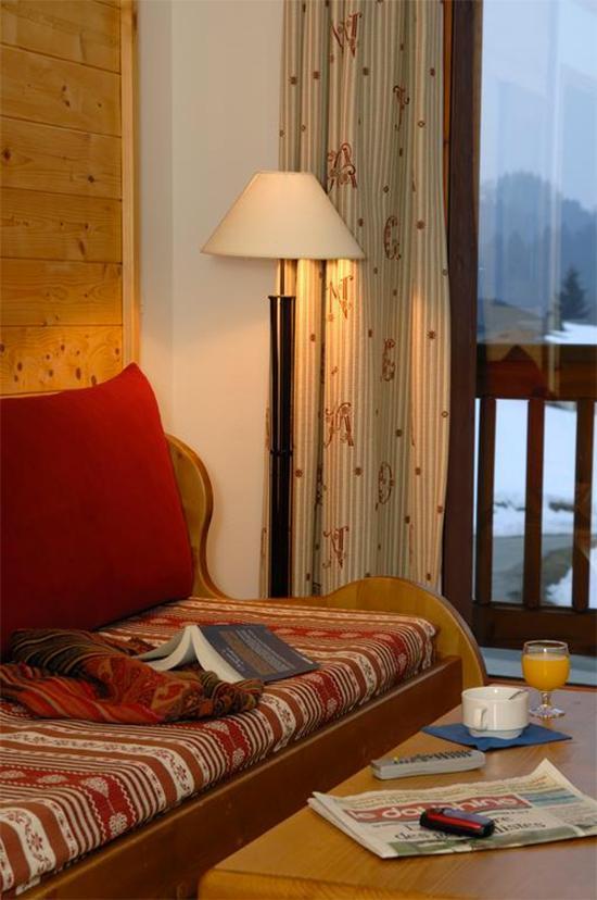 Vakantie in de bergen Résidence Belles Roches - Notre Dame de Bellecombe - Sofa