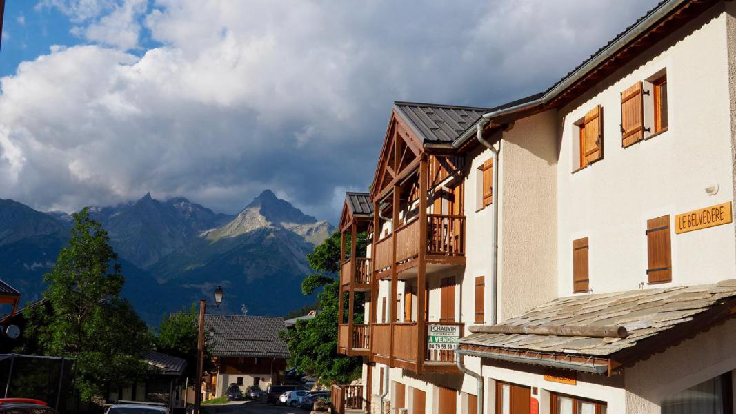 Vakantie in de bergen Appartement 4 kamers 8 personen (8) - Résidence Belvédère Asphodèle - Valfréjus - Buiten zomer