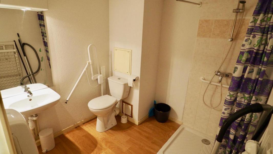 Vakantie in de bergen Appartement 4 kamers 8 personen (8) - Résidence Belvédère Asphodèle - Valfréjus - Wastafel