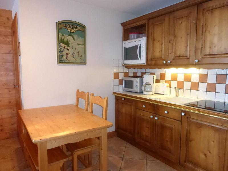 Vacances en montagne Appartement 3 pièces 4 personnes (1D R) - Résidence Bergerie des 3 Vallées D - Méribel - Cuisine