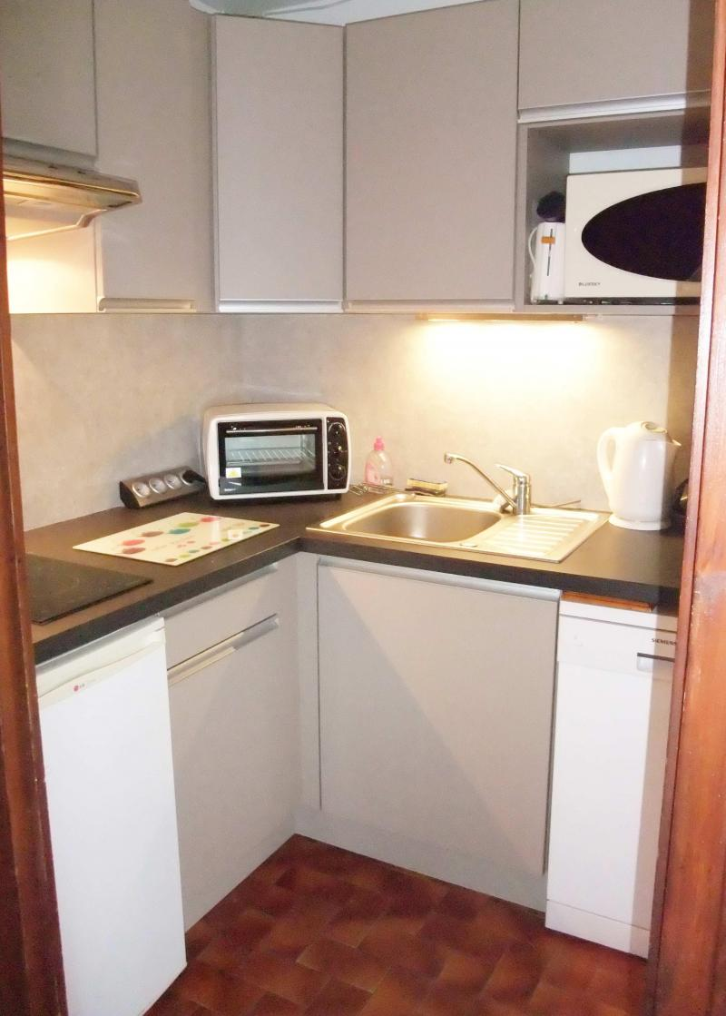 Holiday in mountain resort 2 room apartment 4 people - Résidence Blanche Neige - Le Grand Bornand - Kitchenette