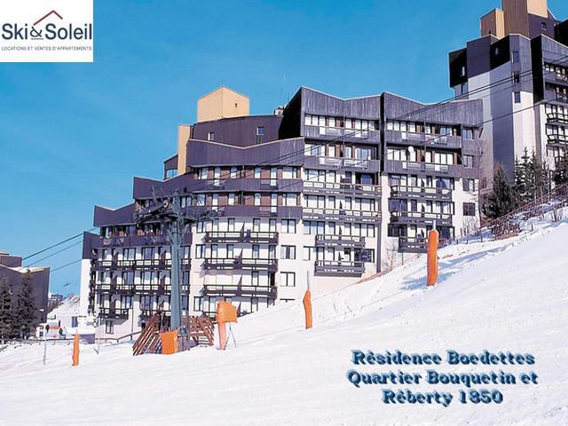 Holiday in mountain resort Résidence Boedette A - Les Menuires