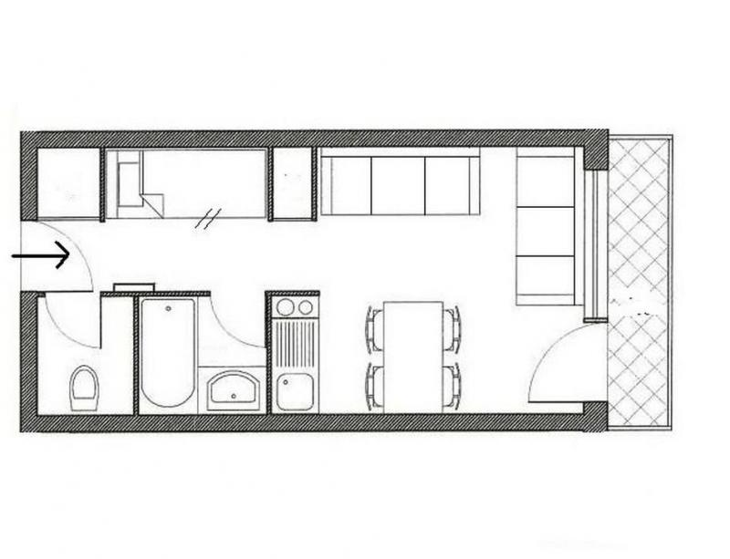 Holiday in mountain resort Studio sleeping corner 4 people (313) - Résidence Boedette A - Les Menuires