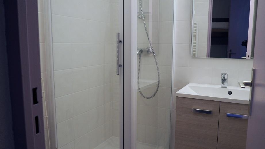 Vacaciones en montaña Apartamento cabina para 4 personas (514) - Résidence Boedette D - Les Menuires - Cuarto de baño