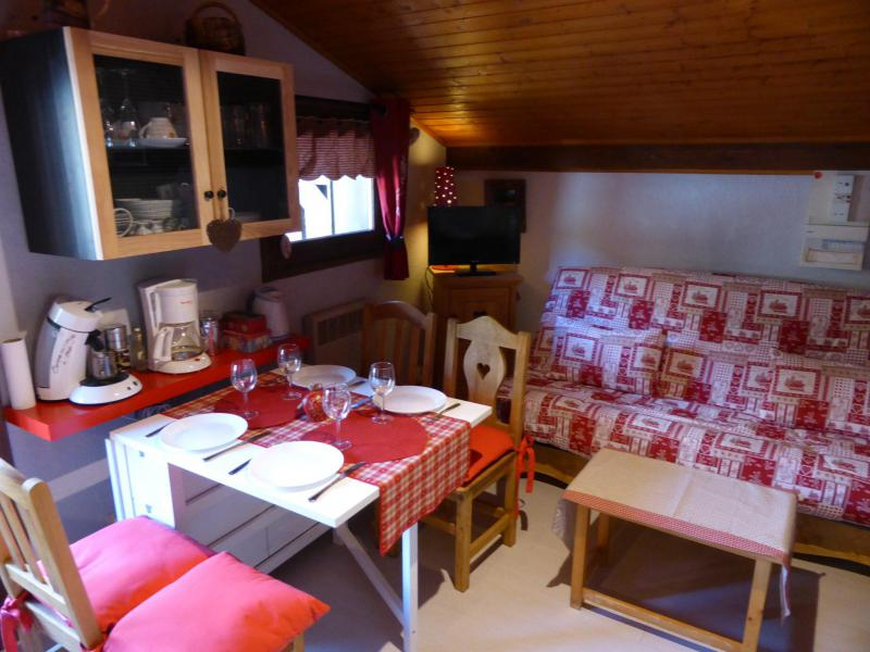Holiday in mountain resort Studio 4 people (C337) - Résidence Boule de Neige - Les Contamines-Montjoie