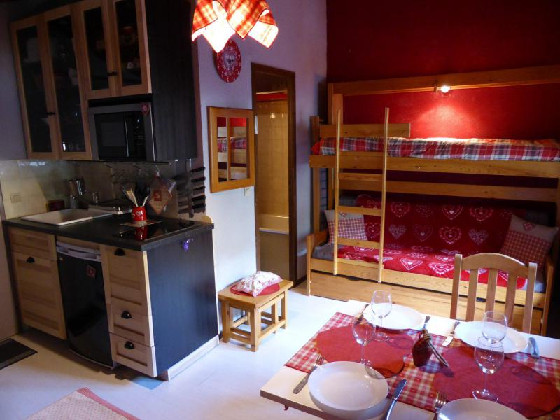 Urlaub in den Bergen Studio für 4 Personen (C337) - Résidence Boule de Neige - Les Contamines-Montjoie