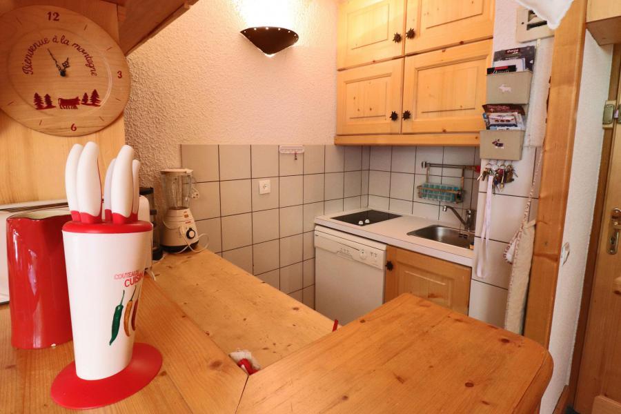 Vacances en montagne Appartement duplex 4 pièces cabine 8 personnes (B21) - Résidence Boulevard - Méribel-Mottaret - Kitchenette