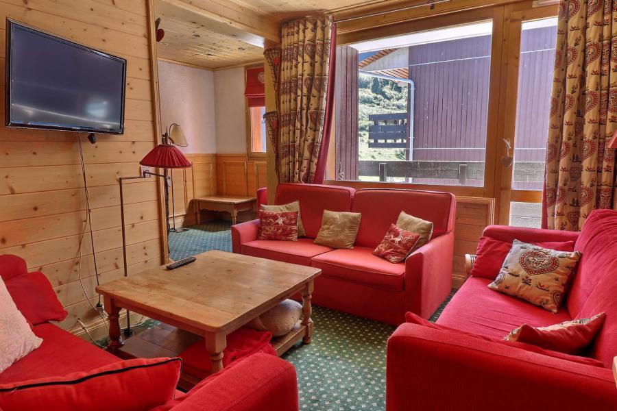 Vacances en montagne Appartement duplex 4 pièces cabine 8 personnes (B21) - Résidence Boulevard - Méribel-Mottaret - Séjour