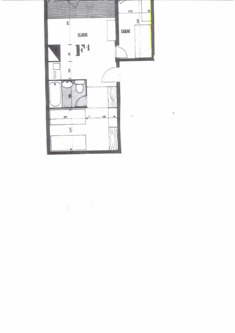 Vacances en montagne Appartement 2 pièces 4 personnes (729R) - Résidence Cachette - Les Arcs