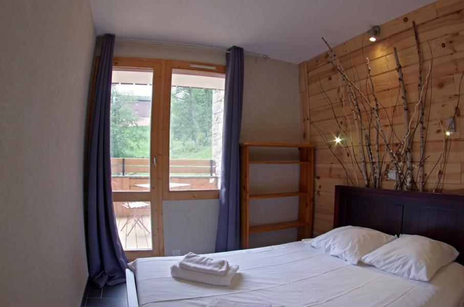 Wakacje w górach Apartament 3 pokojowy 4 osób (G394 n'est plus commercialisé) - Résidence Camarine - Valmorel - Łóżkem małżeńskim
